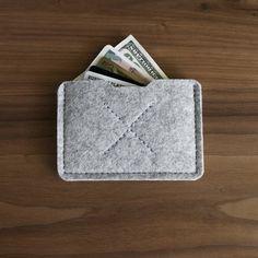 heritage wool wallet. $18