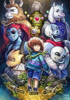 Undertale fan art I really like this one it would be really cool if it was a poster