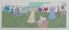 Lingerie Clothesline -The Needlepointer