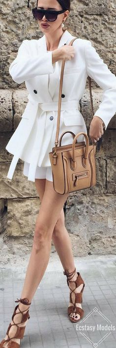 Fall White // Fashion Look by realfashionist