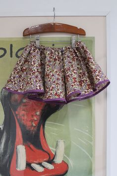 Easy-sew skirt for little girls. Done in 15 minutes (almost)