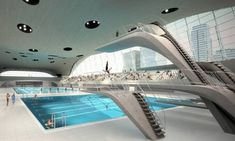 Cost worries over Hadid's 'seductive' pool centre were waved aside by Olympic jury