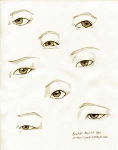 How to draw Asian eyes | Tumblr