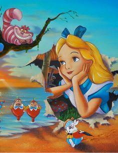 Alice in Wonderland ~ Jim Warren
