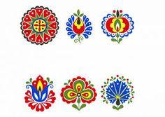 Výsledek obrázku pro krojované vzory Polish Folk Art, African Crafts, Traditional Artwork, Photography Words, Printable Coloring Pages, Pattern Art, Designs To Draw, Creative Inspiration, Needlepoint