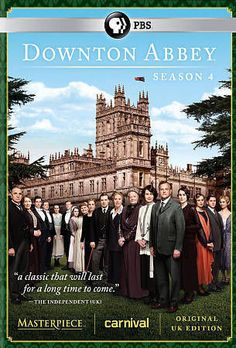 Catch up Downton Abbey Season 4 DVD! 3-Disc Set UK Edition 2014 #DowntonAbbey
