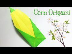 CORN ORIGAMI TUTORIAL | ORIGAMI FOR KIDS