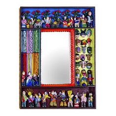 Mirror, 'Scenes from the Andes'. Shop from #UNICEFMarket and help save the lives of children around the world.