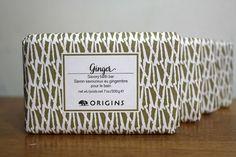 Origins Ginger Savory Bath Bar * SET OF 4*  7 oz ea. #ORIGINS