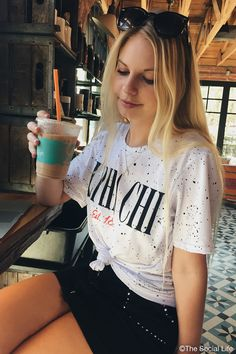 Alpha Chi Omega Retrospeck Tee, perfect for every back to school outfit. Only from The Social Life! Alpha Chi Omega, Delta Gamma, Sigma Kappa, Sorority Recruitment Shirts, University Tees, Cheer Shirts, Sorority Life, Shirt Ideas, Drill