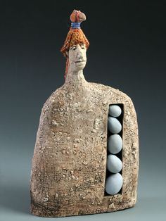Roelna Louw sculpture