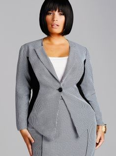 Plus Size Career Dresses | Women's Plus Size Work Suits, Tops, Pants, Separates by Monif C. - Monif C