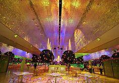Die Hotelhalle des Adam & Eve Hotels in Antalya-Belek.
