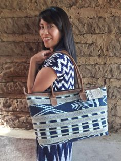 Casa Flor Design. Ladies Shoulder Bag Handmade, Shoulder Bag, Hand bag, Tote, Hand Dyed.  As consumers, we have the power to choose to wear artisan crafts that support present day livelihood development, environmental sustainability, and a rare and surviving Mayan culture of women in the arts.