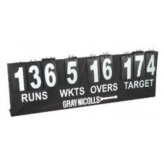 DIY cricket scoreboard for the wall?
