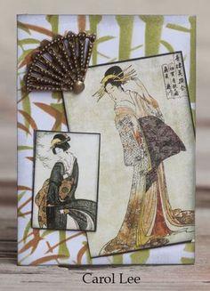 use paper fan
