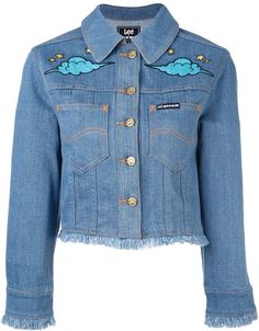 Making @Lee jeans even cooler than before. This is a fun collab! House Of Holland 'Hoh x Lee Collaboration' denim jacket