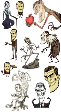 Don't Starve: Maxwell Collection!