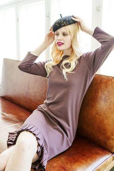 Meno dress - Nanso by Anna Ruohonen S/S 14 Finland Scandinavian Fashion, Anna, Hipster, Turtle Neck, Fashion Designers, My Style, Finland, Casual, Sweaters