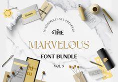 The Marvelous Font Bundle 9