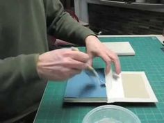 Japanese Binding in Boards - Part 3 of 3 - YouTube