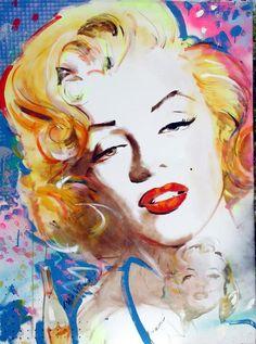Marilyn; artist Daniel Tarantola