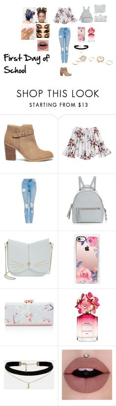 """""""Untitled #265"""" by jordan-michaela ❤ liked on Polyvore featuring Sole Society, Fendi, Ted Baker, Casetify, Marc Jacobs, ASOS and GUESS"""