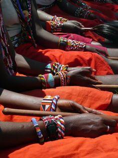 Africa | Maasai details | ©Karungu