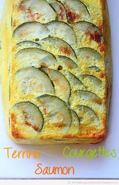 terrine de courgettes et saumon bis
