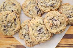 oat chocolate chunk cookies 2