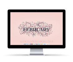 Freebie: February 2018 Desktop Wallpapers