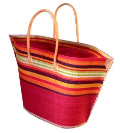 Large Bato basket in red