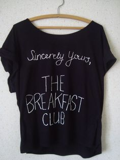 THE BREAKFAST CLUB SHIRT. I really really want this!!