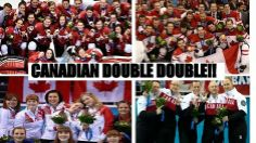 Canadian Double Double eh! Congratulations to all the winners in the #Olympic games  Share around the world!