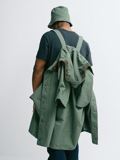 "gentrynyc: "" Poncho / Engineered Garments """