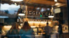 Piggery Café Burnham Bay -- afternoon tea spot
