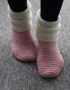 Lightly crocheted socks for warm feet - crochet pattern via Makerist.de Lightly crocheted socks for warm feet – crochet pattern via Makerist. Crochet Socks, Crochet Gifts, Knitting Socks, Crochet Clothes, Crochet Stitches, Baby Knitting, Knit Crochet, Knitting Patterns, Crochet Patterns