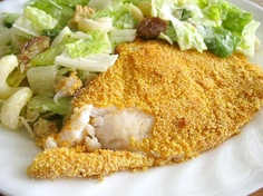 Yummy Crispy Baked Fish Recipe -