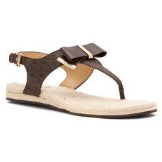 MICHAEL Michael Kors Women's Meg Thong Sandals -- Click image for more details.