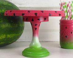 Watermelon Cake Stand - Smash Cake Stand - Watermelon Birthday prop
