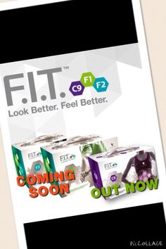 F.I.T. Ett smart program komplett med träning, kosttillskott och kostråd som i tre steg hjälper fig att må bättre och se bättre ut.