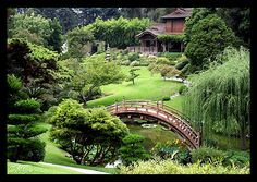 The Japanese Garden at the Huntington Library, San Marino, CA  Photo by Marcie Gonzalez, via Flickr