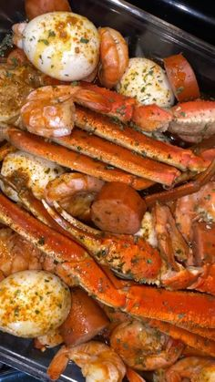 Seafood Boil Recipes, Shrimp Recipes For Dinner, Seafood Dinner, Fish Recipes, Appetizer Recipes, Steak Recipes, Boiled Food, Cooking Recipes, Healthy Recipes