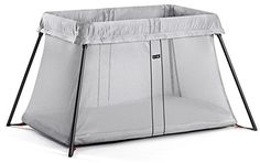 Such a compact travel crib and weighs 10lb less than the pack 'n play!