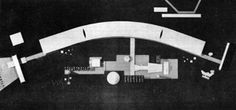 Oscar Niemeyer, Permanent International Fair, Tripoli, photographs of model and preliminary sketch Oscar Niemeyer, Photographs, Sketch, Architecture, Sketch Drawing, Photos, Photograph, Sketching, Architecture Illustrations