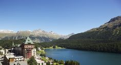 Badrutt's Palace, St. Moritz, Switzerland.  The picture says it all! #JetsetterCurator