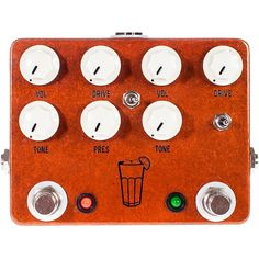 JHS Pedals Sweet Tea 2 in 1 Dual Overdrive Guitar Effects Pedal