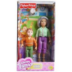 Fisher-Price Loving Family Grandma and Brother Dolls (Toy)