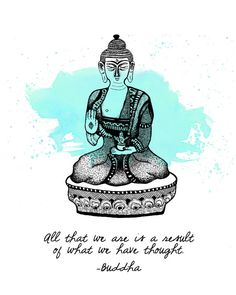 Buddha Quote White 8x10 Metallic Print by LeslieSabella on Etsy, $20.00