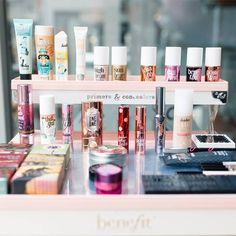 All the makeup! If you could only live with ONE Benefit product for the rest of your life, what would it be!? Try and answer THAT! ;) #benefitbeauty